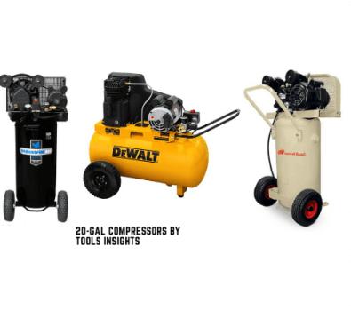 20 gallon air compressors
